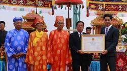 Lễ hội Cầu ngư Đà Nẵng đón chứng nhận Di sản Văn hóa phi vật thể Quốc gia