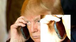 """LẠ: Ông Donald Trump từng dùng smartphone """"cổ lỗ sĩ"""" Galaxy S3?"""