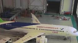 Cận cảnh máy bay dân dụng đầu tiên do Trung Quốc sản xuất