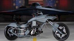"""Tò mò chiếc môtô mang tên """"Bóng ma"""" của quân đội Mỹ"""