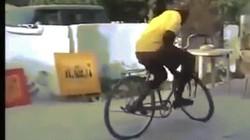 """""""Lác mắt"""" với màn biểu diễn xe đạp đỉnh cao của chàng da đen"""