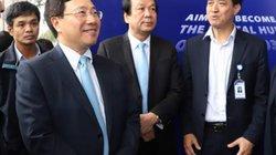 Ảnh: Khai trương Trung tâm báo chí quốc tế Hội nghị Thượng đỉnh Mỹ-Triều