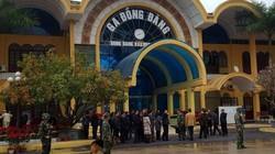 Công an, bộ đội thắt chặt an ninh ga Đồng Đăng