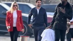 Con trai Pogba lần đầu đến Old Trafford cổ vũ bố