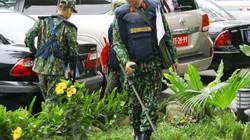 Xem công binh rà soát bom mìn ở trung tâm báo chí, khách sạn Melia