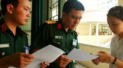 Những điểm thí sinh thi cần đặc biệt lưu ý khi đăng ký vào các trường quân đội năm 2019