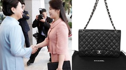 Những chiếc túi sang trọng của phu nhân ông Kim Jong Un