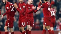 """Vùi dập Watford 5-0, sao trẻ Liverpool lập kỷ lục """"có 1-0-2"""""""