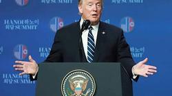 Không có tuyên bố chung, Tổng thống Trump được lòng công chúng Mỹ?