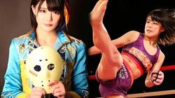 Hot girl Nhật gây sốc khi đang ca hát chuyển sang đánh võ tự do