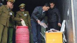 Lạng Sơn: Bắt giữ 11 tấn nội tạng động vật nhập lậu