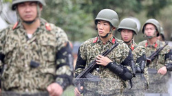 Hình ảnh an ninh thắt chặt ở mức cao nhất tại ga Đồng Đăng