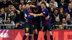 """Clip: """"Người hùng bất ngờ"""" lập công, Barcelona hạ gục Real Madrid"""