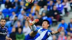 Ghi bàn cho Espanyol, tiền đạo số một Trung Quốc đi vào lịch sử La Liga