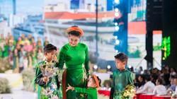 Sao Việt khoe các nhóc tỳ đáng yêu như thiên thần trong Lễ hội Áo dài 2019