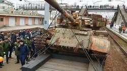 Bên trong đoàn tàu Nga chất đầy chiến lợi phẩm thu từ phiến quân ở Syria