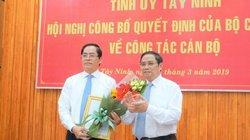 2 năm có bao nhiêu Ủy viên T.Ư luân chuyển giữ chức Bí thư Tỉnh ủy?