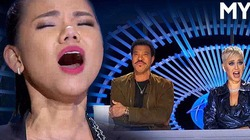 """Cô gái Việt khoe giọng """"khủng"""" khiến Katy Perry phấn khích ở American Idol"""