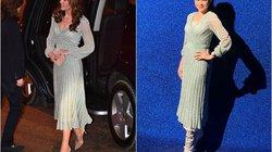 """Mẹ chồng Hà Tăng """"đụng váy"""" 57 triệu đồng với công nương Kate: Ai đẹp hơn ai?"""