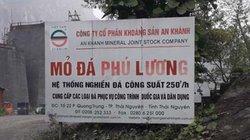 Vụ lở đá chết người ở Thái Nguyên: Những thông tin trái ngược