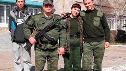 """Rơi vào """"bẫy tình"""", nữ trung đoàn phó phe ly khai thân Nga đào tẩu sang Ukraine"""