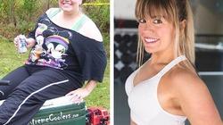 Hành trình giảm hơn nửa tạ của cô gái béo như sumo