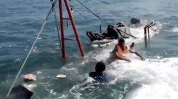 Bị tông chìm tàu, ngư dân vẫn tiếp tục đánh bắt trên tàu cứu nạn