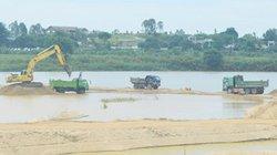 Quảng Ngãi: Cách kiếm tiền béo bở trong đấu giá cát trên sông Trà Khúc