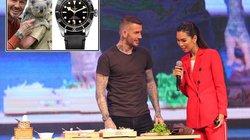 Hé lộ về chiếc đồng hồ David Beckham đeo khi tới Việt Nam