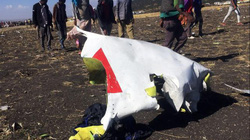 Cận cảnh hiện trường máy bay Ethiopia chở 157 người rơi