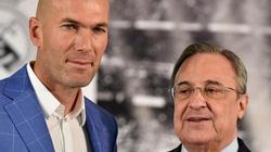 """HLV Zidane trở lại Real, Chủ tịch Perez hứa """"nổ bom tấn"""" nào?"""