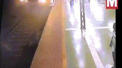 Cô gái đi tiểu trên đường ray tàu hỏa và bài học nhớ đời