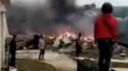 Máy bay Trung Quốc rơi xuống đảo Hải Nam, 2 phi công thiệt mạng