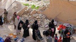Syria: IS tỉa lông mày, mặc váy giả phụ nữ trốn khỏi chảo lửa Baghouz