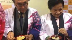 Ba Huân đưa trứng gà ăn sống vào hệ thống siêu thị Nhật