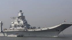 Hàng loạt tàu chiến, tàu sân bay Ấn Độ ra khơi răn đe TQ, không phải Pakistan?