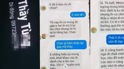 Thầy giáo gạ tình nữ sinh Thái Bình qua tin nhắn bị chuyển công tác
