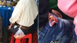 Ông bố đi ăn cỗ nhét tôm túi quần để phần cho con và câu chuyện rơi nước mắt