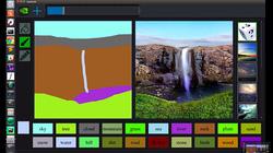 Kinh ngạc Nvidia AI giúp biến đường nguệch ngoạc thành tranh đẹp như mơ