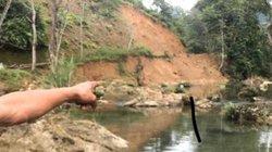 Kỳ bí nơi rừng thẳm Sơn La suối nước trong vắt, cá kéo đến đen kịt