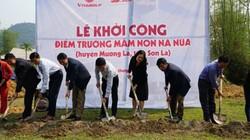 Báo Dân Việt - Quỹ Thiện Tâm: Khởi công xây 3 điểm trường ở Sơn La