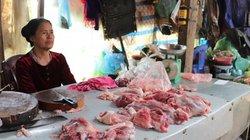 Dịch tả lợn châu Phi ở Sơn La: Thịt lợn ế ẩm, tiểu thương bán cầm cự