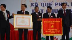 Thủ tướng Chính phủ dự lễ công nhận xã Quế Phú đạt chuẩn NTM