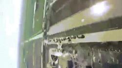 Khoảnh khắc drone quay cảnh vụ nổ nhà máy hóa chất TQ chao đảo vì bị tấn công