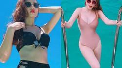 Gái ngoan showbiz hiếm hoi thử nghiệm bikini, monokini khoét hiểm