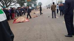 Nóng: Lại xe khách lao vào đoàn đưa tang, ít nhất 5 người tử vong