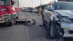 Con gái khóc ngất khi thấy cha chết trước mặt sau tai nạn