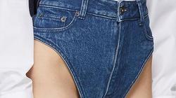 Đố ai dám liều mặc chiếc quần jean như quần chip