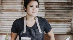 Cô chủgốc Việt xinh đẹp tỏa sáng lọt top 3 đầu bếp xuất sắc ở Mỹ