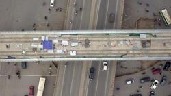 Flycam: Xem trước diện mạo tuyến metro Nhổn - ga Hà Nội từ trên cao